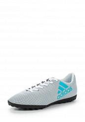 Купить Шиповки X 17.4 TF adidas Performance серый AD094AMUOX81