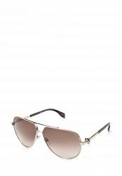 Купить Очки солнцезащитные Alexander McQueen золотой AL001DWQYL35