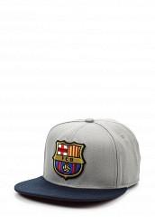 Купить Бейсболка FC Barcelona Atributika & Club™ серый AT006CUSIR39