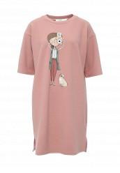 Купить Платье Befree коралловый, розовый BE031EWPKA87 Китай