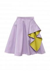 Купить Юбка Boutique Moschino фиолетовый BO036EWHAH64