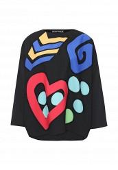 Купить Блуза Boutique Moschino черный BO036EWJLI33