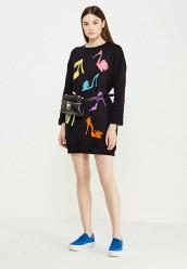 Купить Платье Boutique Moschino черный BO036EWUFP31
