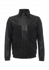 Купить Куртка кожаная Boss Green черный BO984EMNOQ64