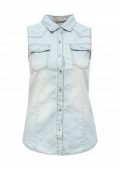Купить Рубашка джинсовая By Swan голубой BY004EWRPM96 Китай
