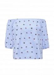 Купить Блуза By Swan голубой BY004EWRPN23 Китай