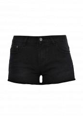Купить Шорты джинсовые By Swan черный BY004EWTLP34