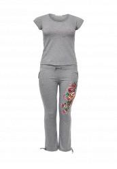 Купить Костюм спортивный Donmiao серый DO016EWNPA83