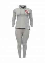 Купить Костюм спортивный Donmiao серый DO016EWNPB45