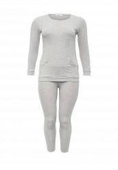 Купить Костюм спортивный Donmiao серый DO016EWNPB50