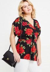 Купить Блуза Dorothy Perkins Curve черный DO029EWUFT76