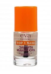 Купить Топовое покрытие для стойкости маникюра Защита маникюра, 10мл Eva Mosaic белый EV011LWVIN91