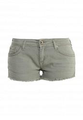 Купить Шорты джинсовые Gas зеленый GA340EWRLP11 Тунис