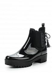 Купить Резиновые полусапоги Ideal черный ID005AWPVB91