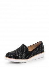 Купить Слипоны Ideal Shoes черный ID005AWRWQ35 Китай