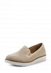 Купить Лоферы Ideal Shoes бежевый ID005AWSBE67 Китай