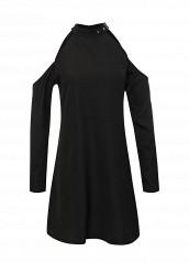 Купить Платье Influence черный IN009EWNWW28 Индия