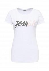 Купить Футболка Liu Jo Jeans белый LI003EWOPX67 Италия