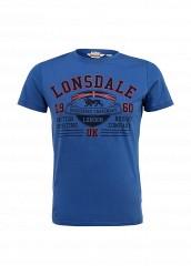 Купить Футболка Lonsdale синий LO789EMCSC28