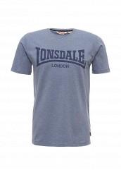 Купить Футболка Lonsdale синий LO789EMUIC60