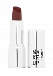 Купить Помада для губ кремовая Lip Color тон 137 осенний красный Make Up Factory MA120LWHDQ37
