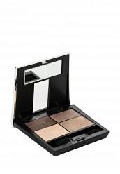 Купить Тени Make Up Factory 4-х цветные для глаз Eye Colors тон 07 античная латунь, платина, серебро, бледное золото MA120LWHDR94 Германия