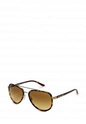 Купить Очки солнцезащитные MK5006 10342L Michael Kors коричневый MI186DWHXJ42