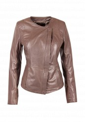 Купить Куртка кожаная Grafinia коричневый MP002XW0FO6N