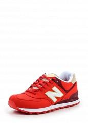 Купить Кроссовки ML574 New Balance красный NE007AMPDJ85