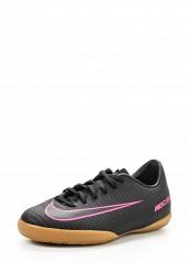 Купить Бутсы зальные JR MERCURIALX VAPOR XI IC Nike черный NI464ABJML11
