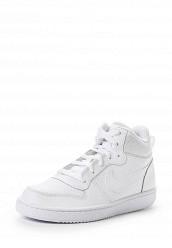 Купить Кроссовки NIKE COURT BOROUGH MID (GS) Nike белый NI464ABJML32 Индия