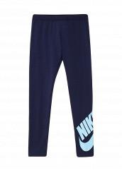 Купить Леггинсы G NSW LEG A SEE LGGNG LOGO Nike синий NI464EGPDB44