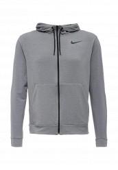 Купить Толстовка DRI-FIT TRAINING FLEECE FZ HDY Nike серый NI464EMHBG02