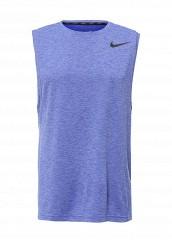 Купить Майка спортивная M NK BRT MUSCLE TANK HPR DRY Nike синий NI464EMPKM64