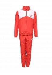 Купить Костюм спортивный M NSW TRK SUIT WVN HALFTIME Nike красный NI464EMRYV41