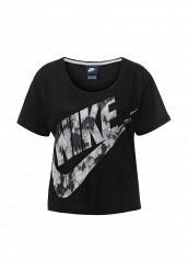 Купить Футболка W NSW TOP GX FTW Nike черный NI464EWJGD97