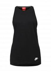 Купить Майка спортивная W NSW ESSNTL TANK LBR Nike черный NI464EWRZA61
