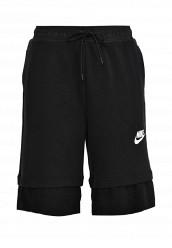 Купить Шорты спортивные W NSW AV15 SHORT MESH Nike черный NI464EWRZA84