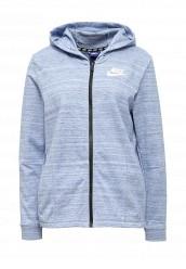 Купить Толстовка W NSW AV15 JKT KNT Nike голубой NI464EWRZB13