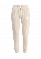 Купить Брюки спортивные W NSW GYM VNTG PANT Nike бежевый NI464EWRZC11 Камбоджа
