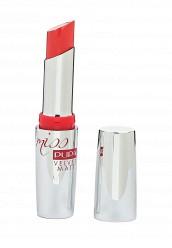 Купить Помада для губ Pupa 020013303 Матовая помада для губ т.303 MISS PUPA VELVET MATT яркий коралловый красный PU006LWOAW51 Италия