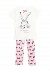 Купить Пижама Sela белый, мультиколор, розовый SE001EGKKD85