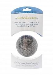 Купить Спонж The Konjac Sponge Co для умывания лица Premium Facial Puff with Bamboo Charcoal (премиум-упаковка) TH015LWKHO37 Корея, Республика