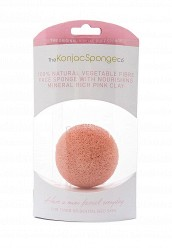 Купить Спонж The Konjac Sponge Co для умывания лица Premium Facial Puff with Pink Clay (премиум-упаковка) TH015LWKHO40 Корея, Республика