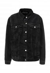 Купить Куртка джинсовая Topshop черный TO029EWLJZ42