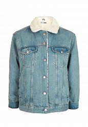 Купить Куртка джинсовая Topshop синий TO029EWNKB94
