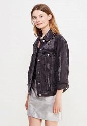 Купить Куртка джинсовая Topshop черный TO029EWUZR51