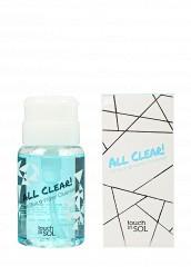 Купить Средство Touch in Sol для снятия макияжа ALL Clear! Ice Blue Water, 150 мл TO044LWJEH58 Корея, Республика