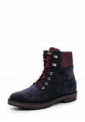 Купить Ботинки Tommy Hilfiger синий TO263AWKGQ09