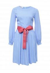 Купить Платье Tutto Bene голубой TU009EWPCP83 Россия